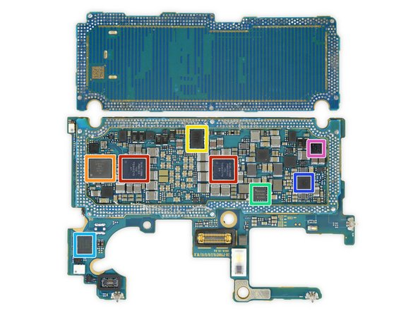 More chips inside this silicon sandwich include: