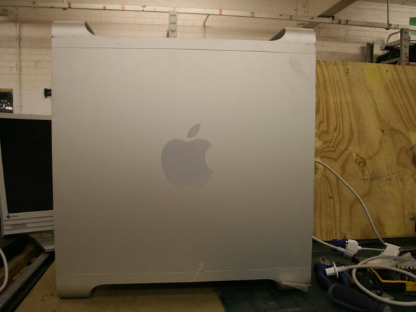 Disassembling Power Mac G5 Motherboard