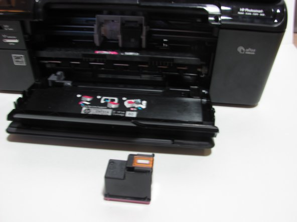 HP Photosmart D110a Ink Cartridge Replacement