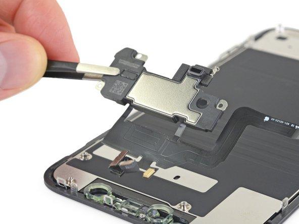 Replacement du module haut-parleur interne et capteurs frontaux de l'iPhone 11