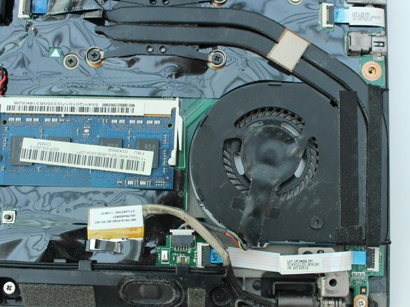 Lenovo ThinkPad T431S Fan Replacement