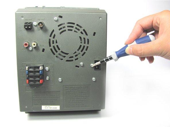 Panasonic SC-PM31 Back Panel Replacement