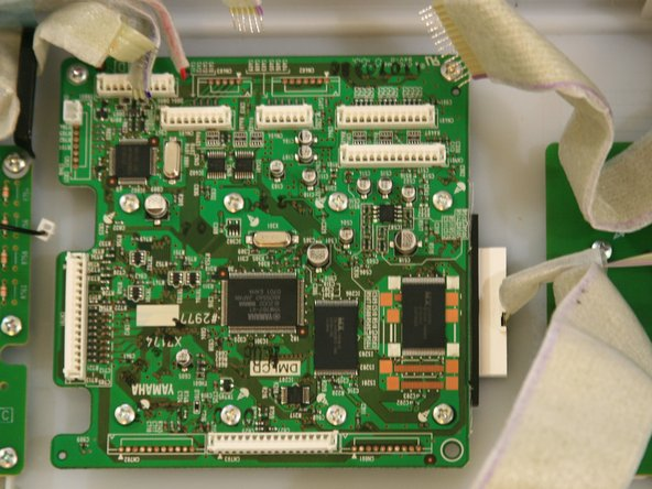 Completely remove the circuit board from the face plate.