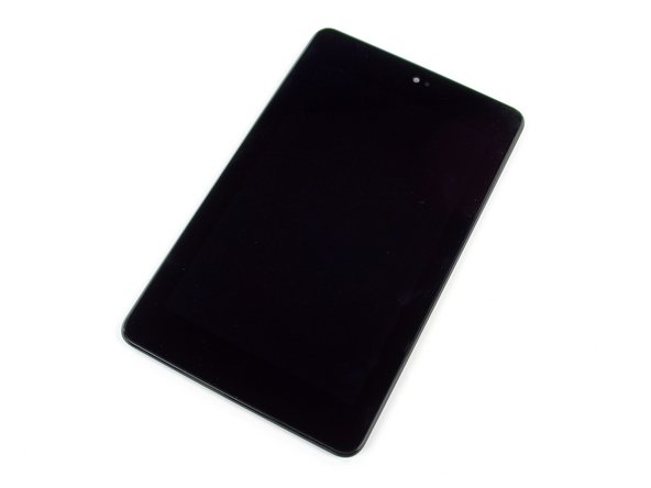 Here we have the 7-inch, 1280x800 HD display, manufactured by Hydis and designated model HV070WX2.