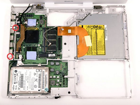 "iBook G4 14"" 933 MHz-1.33 GHz Logic Board Replacement"