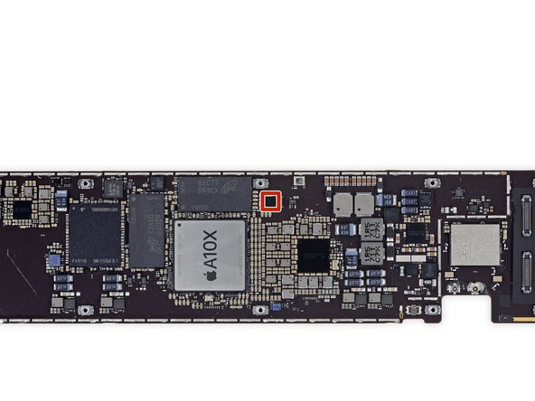 Teardown Update—A closer look at the logic board reveals something interesting: