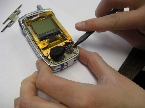 Do not detach or tear any wires when completing this step.