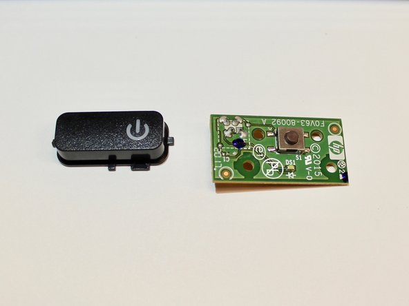 HP OfficeJet 4650 Power Button Replacement