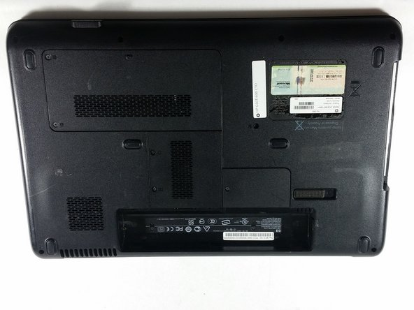 HP G60T-600 CTO Battery Removal