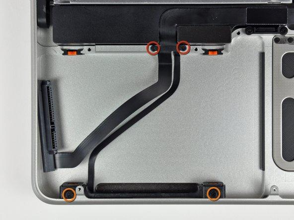 "MacBook Pro 15"" Unibody 2.53 GHz Mid 2009 Hard Drive/IR Sensor Cable Replacement"