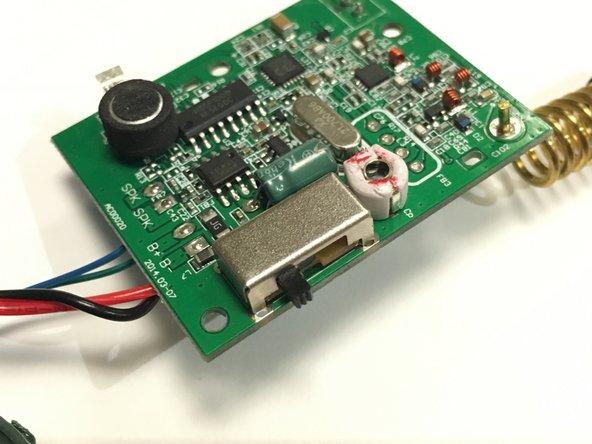 Kidzlane Walkie-Talkie Power Button Replacement