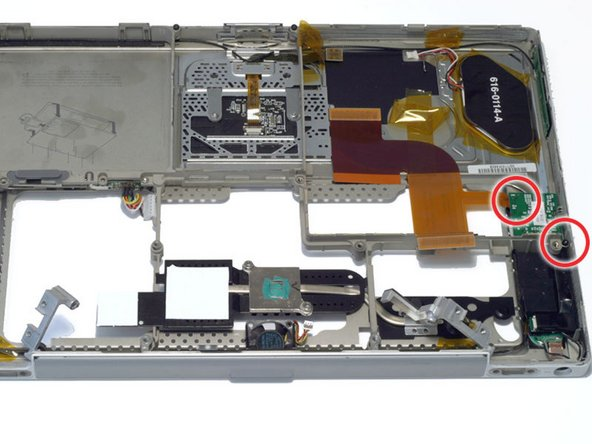 PowerBook G4 Titanium Mercury Inverter Board Replacement