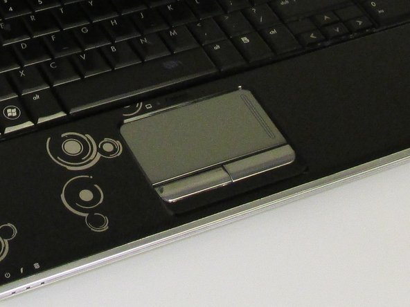 HP Pavilion dv6-1245dx TouchPad Button Replacement