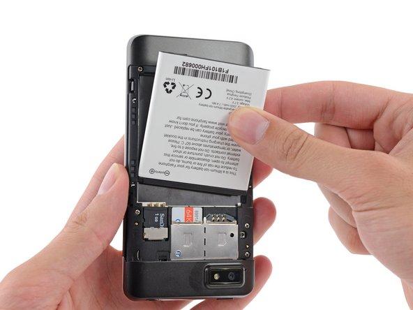Remplacement de la batterie du Fairphone 1