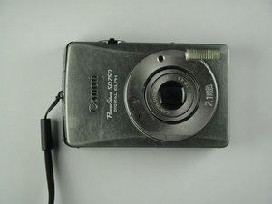 Canon PowerShot SD750修理
