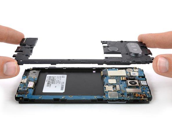 Remplacement de l'ensemble châssis du LG V20
