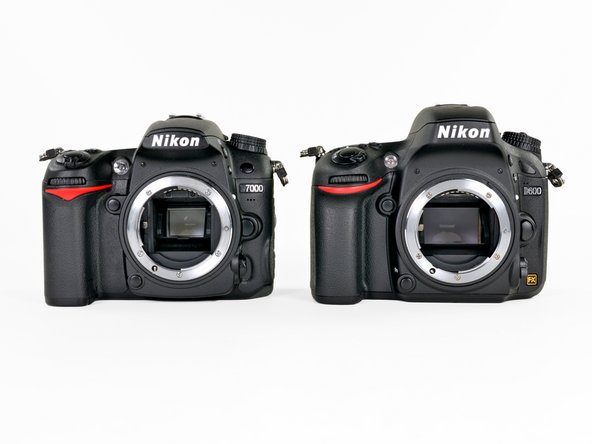 If you're used to wielding a Nikon D7000, holding a D600 may start to feel like déjà vu. Let's compare the two and see how similar they really are.