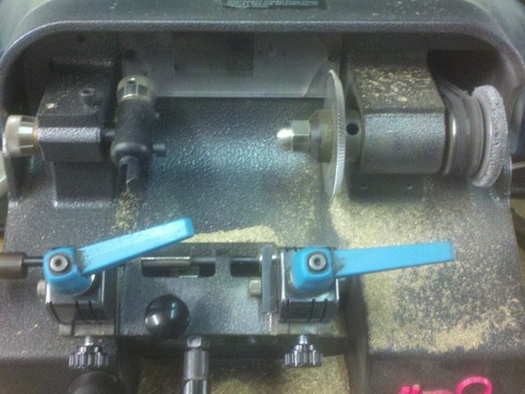 Ilco Orion Key Machine deburring wheel replacement