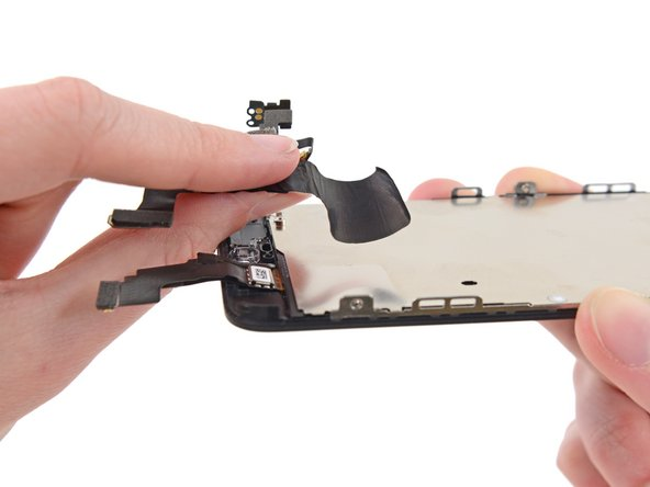 iPhone 5c Front-Facing Camera and Sensor Cable Replacement