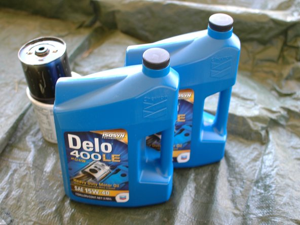 It's time to put in fresh oil. Use a diesel rated oil.