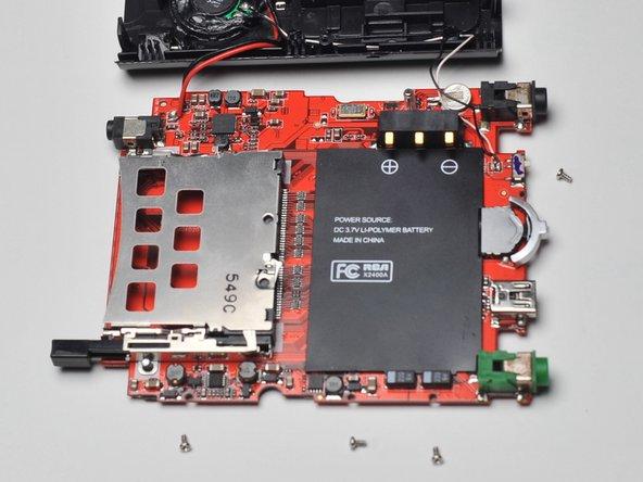 RCA Lyra X2400 USB port replacement