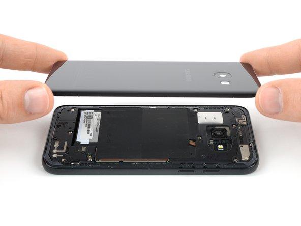 Remplacement de la coque arrière du Samsung Galaxy A3 (2017 ...