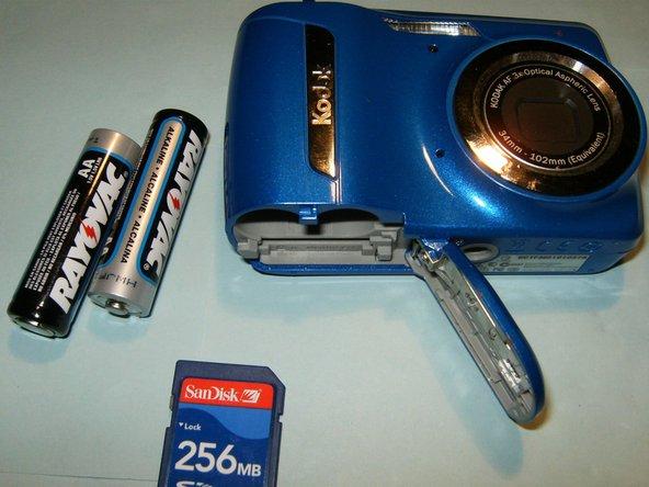 Kodak EasyShare C142 LCD Replacement