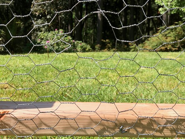 How to Fix a Hole in Chicken Wire Fencing