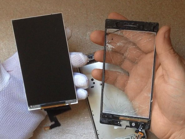 Sony Xperia M2 Touchscreen Replacement