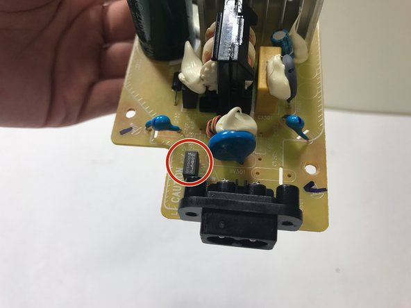 Sony GTK-XB5 Surge Fuse Replacement