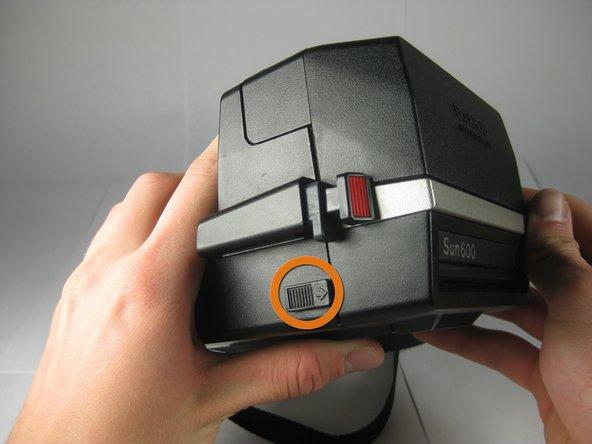 Polaroid Sun 600 LMS Lens Replacement