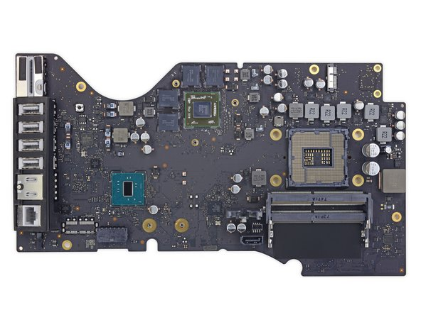 "iMac Intel 21.5"" Retina 4K Display (2017) Logic Board austauschen"