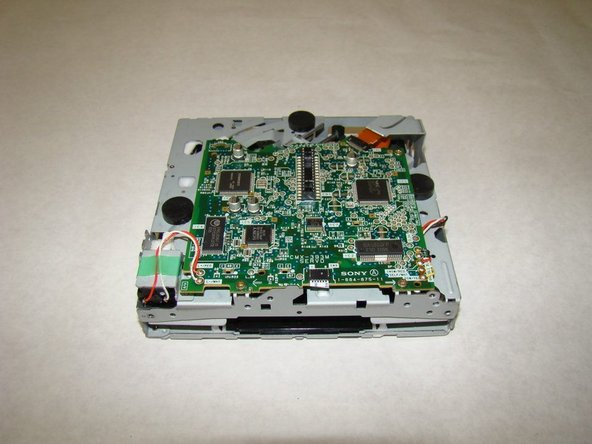 Sony Xplod CDX-MP30 CD Drive Motherboard Replacement