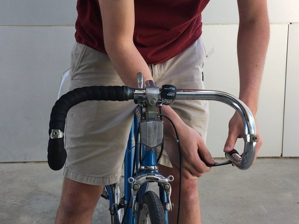Bicycle Handlebar Tape Replacement