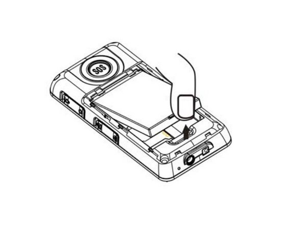 Pry the battery out with your thumb or the iFixit opening tool.