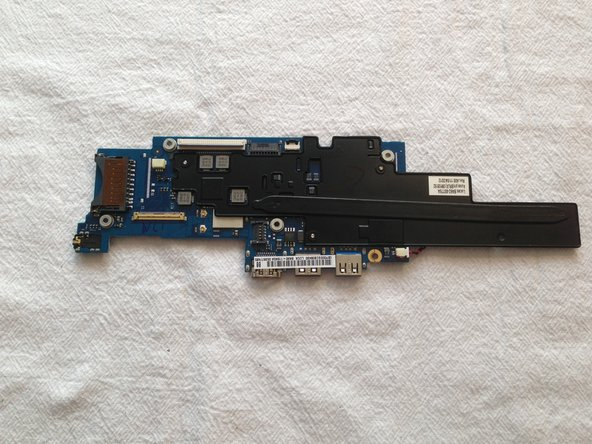 We now have a main board with the heatsink attached
