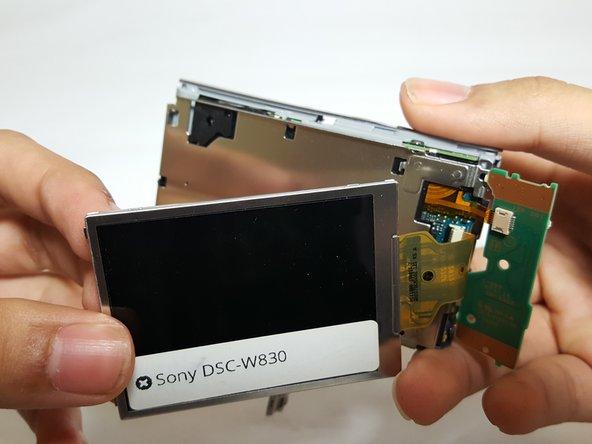 Sony Cyber-Shot DSC-W830 LCD Replacement