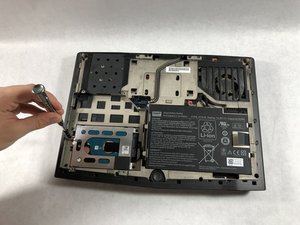 Alienware P18G M14X R1 Hard Drive Replacement