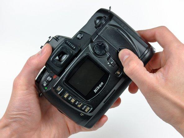 Nikon D70 Memory Door Replacement