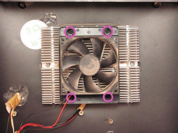 Remove four 15mm Phillips screws.
