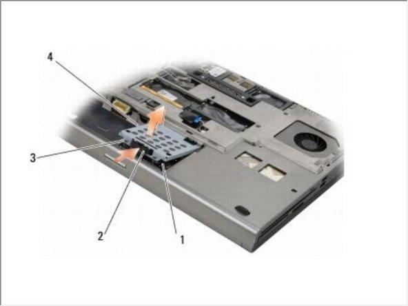 Dell Precision M6400 Hard Drive Replacement