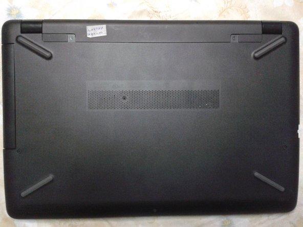 Desmontaje de Laptop HP 15-bs015dx