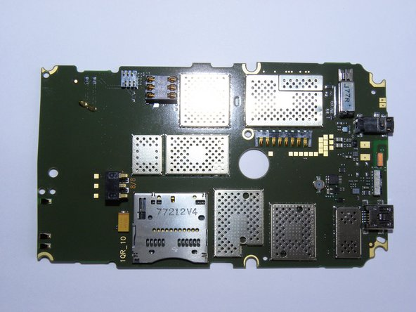 Rear side of the circuit board.