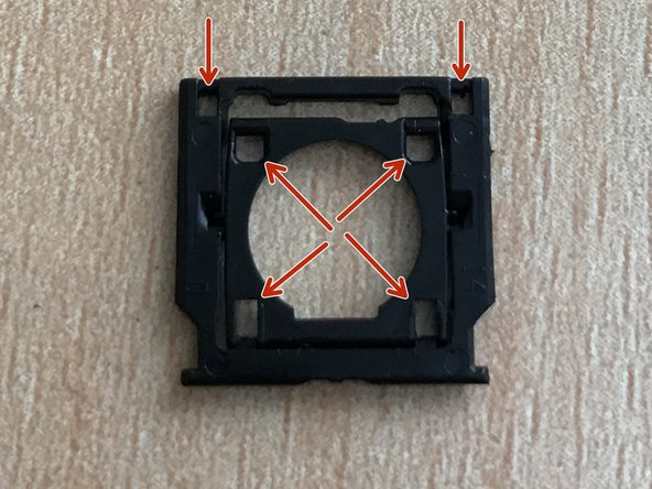 Check the plastic bracket for damage in these 6 areas.