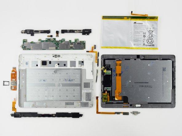 Huawei MediaPad M2 10.0 Repairability Assessment