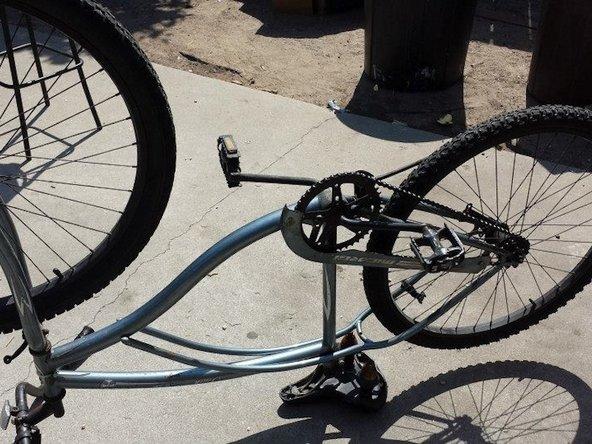 Cruiser Bike Rear Wheel Replacement