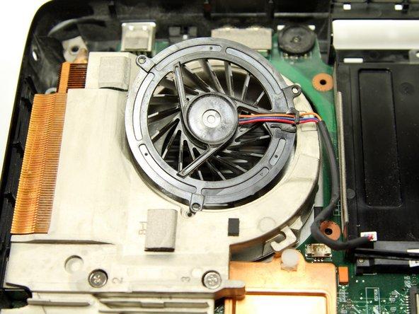Toshiba Satellite A65-S126 Internal Fan Replacement