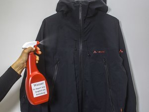When do I need to re-waterproof my Vaude garment?