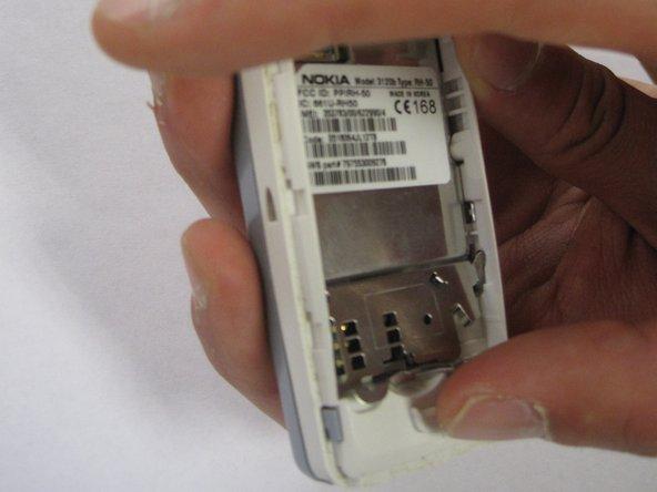 Nokia 3120 SIM Card Replacement