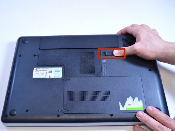 Removing the battery while the laptop is still on may corrupt your files.